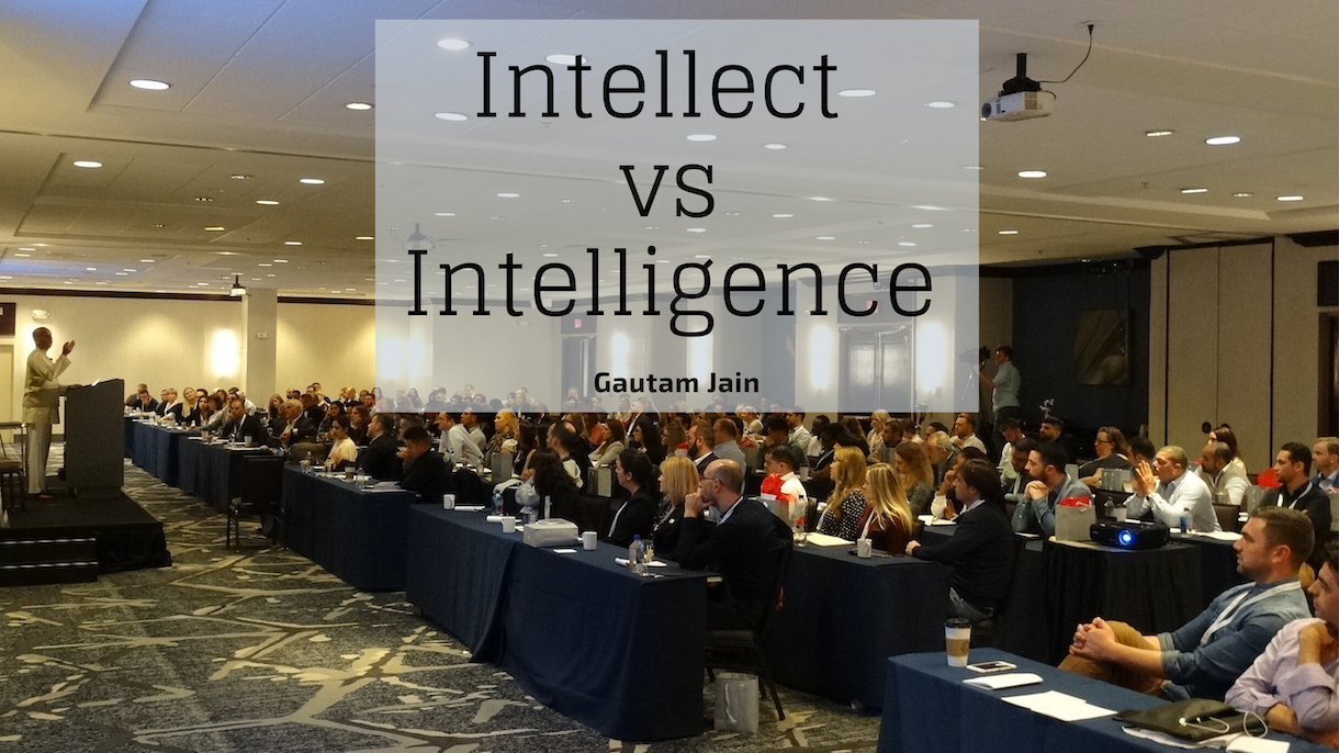 Intellect vs Intelligence